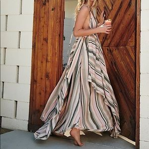 Free People Tropical Heat Maxi Dress